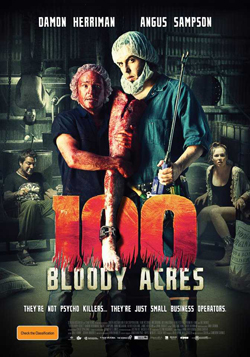 100 Bloody Acres 2013 poster