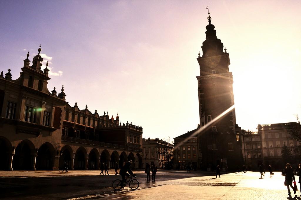 Kraków pod osłoną nieba