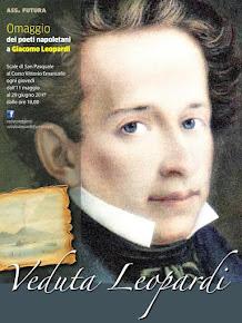 Napoli rende omaggio a Giacomo Leopardi