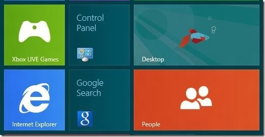 Tips Membuka Control Panel pada Windows 8