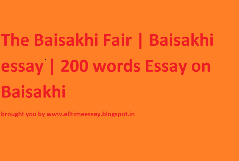 baisakhi fair essay Essay about my favorite subject english essay editing services groups jackson: november 27, 2017 tia que a pasado wharton mba essays zoning attention grabber for.