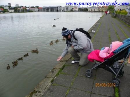 viaje a islandia con bebe