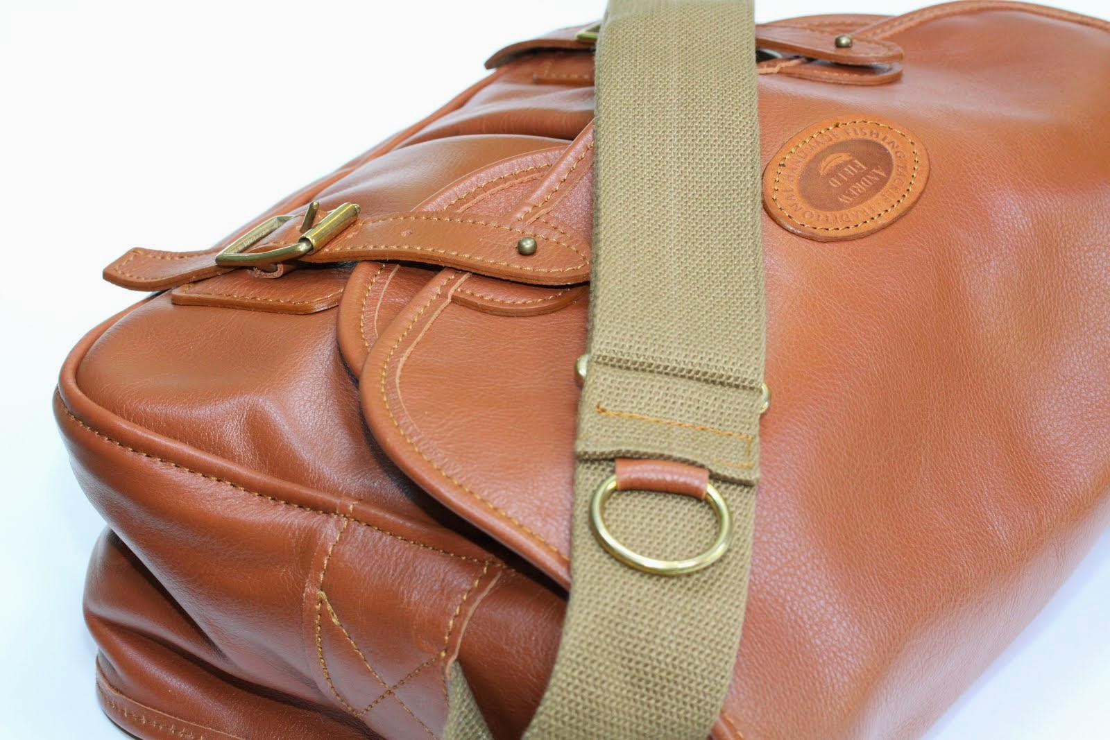 Full Leather Fishing Bag