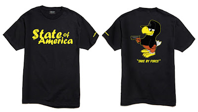 The Hundreds Ten Year Top Ten T-Shirts Collection - State of America