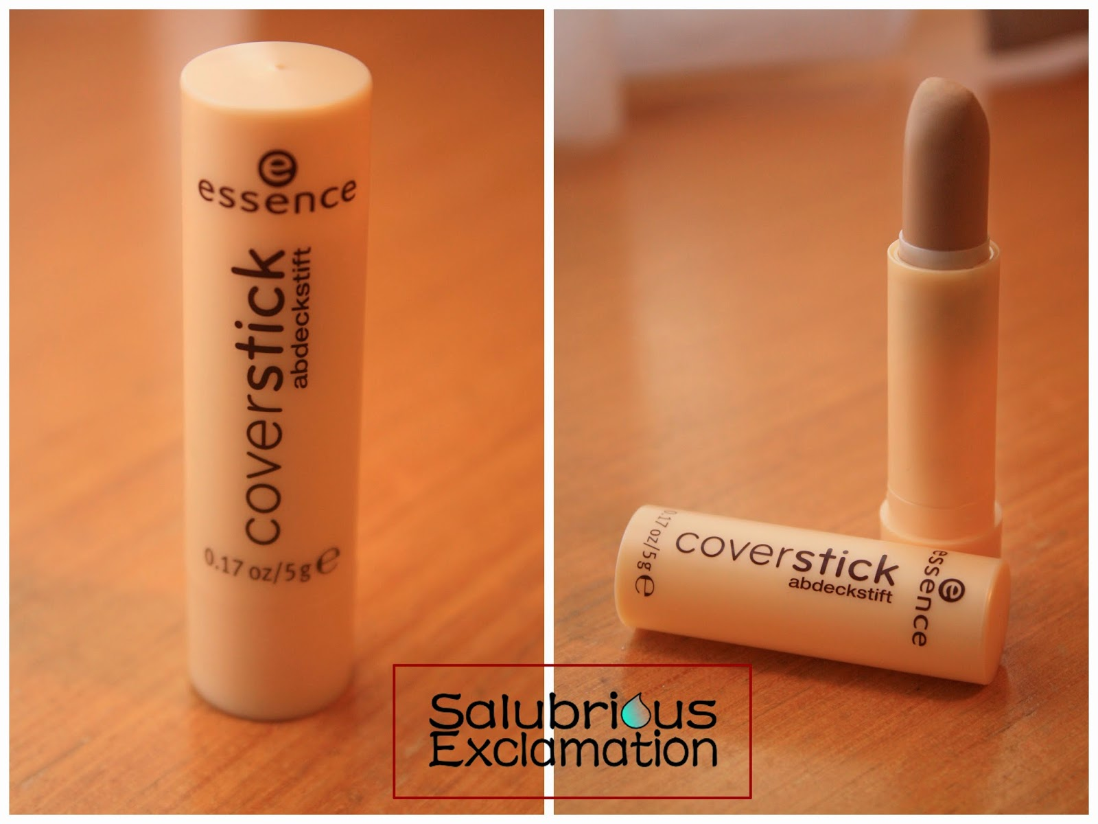 Salubrious Selection: Essence Cover Stick