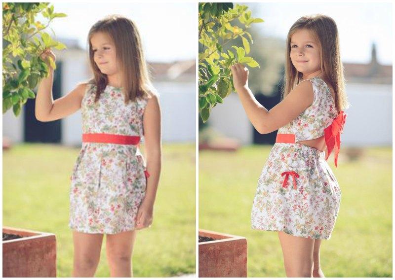 vestido coleccion florecitas multicolor