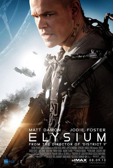 Elysium Character Poster Matt Damon