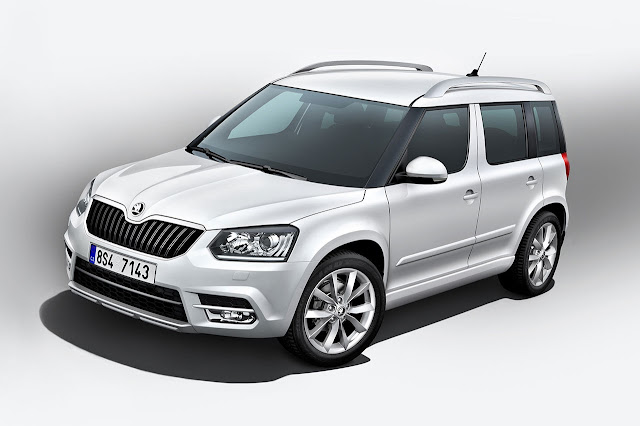 All new Škoda Yeti
