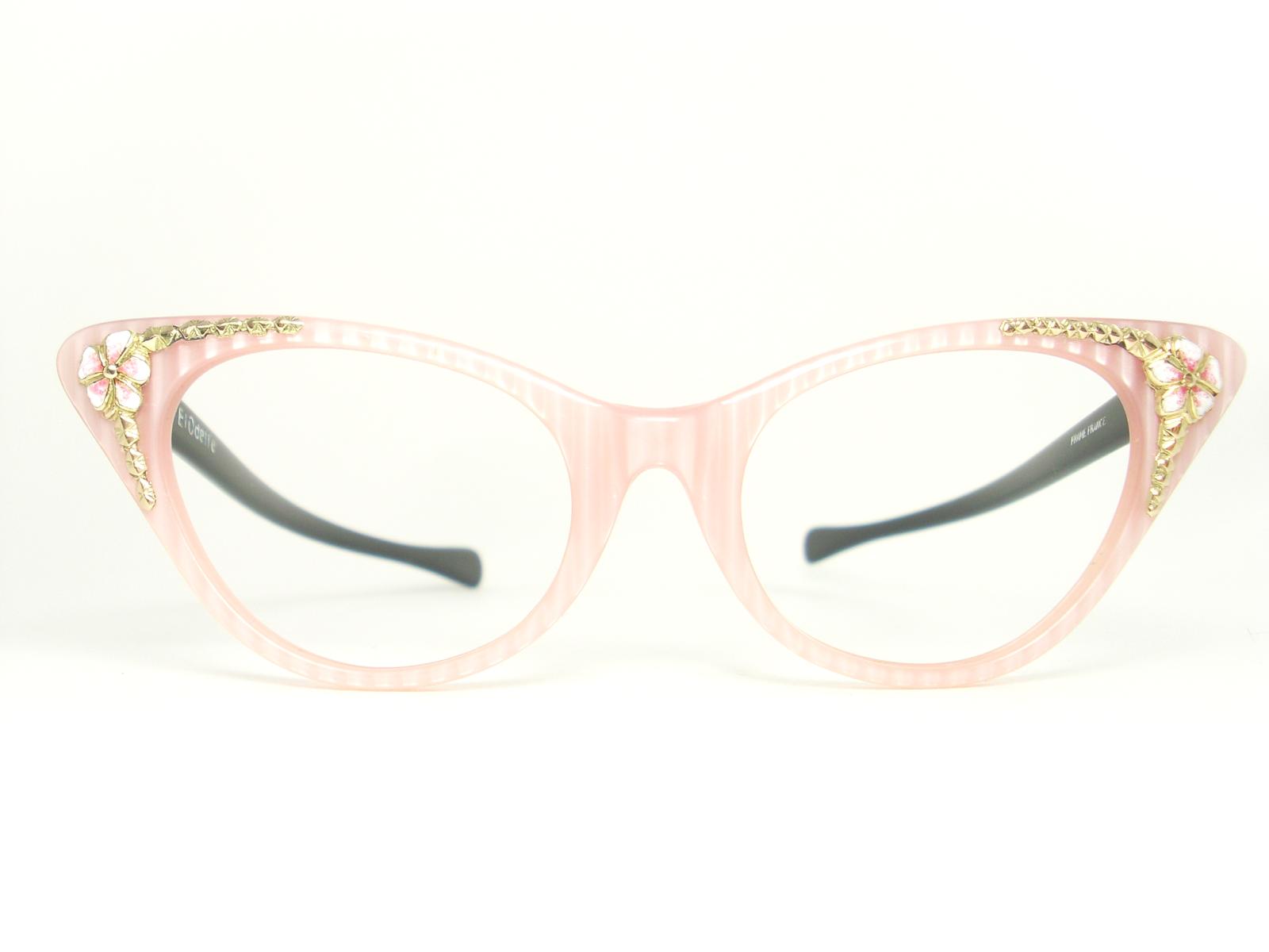 Glasses Frame Vintage : Vintage Eyeglasses Frames Eyewear Sunglasses 50S: VINTAGE ...