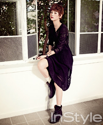 Yoon Seung Ah - InStyle July 2013
