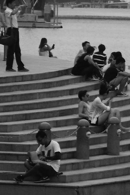chilling in Esplanade