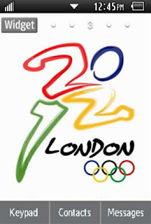 Sports London 2012 Olympics Samsung Corby 2 Theme 2 Wallpaper