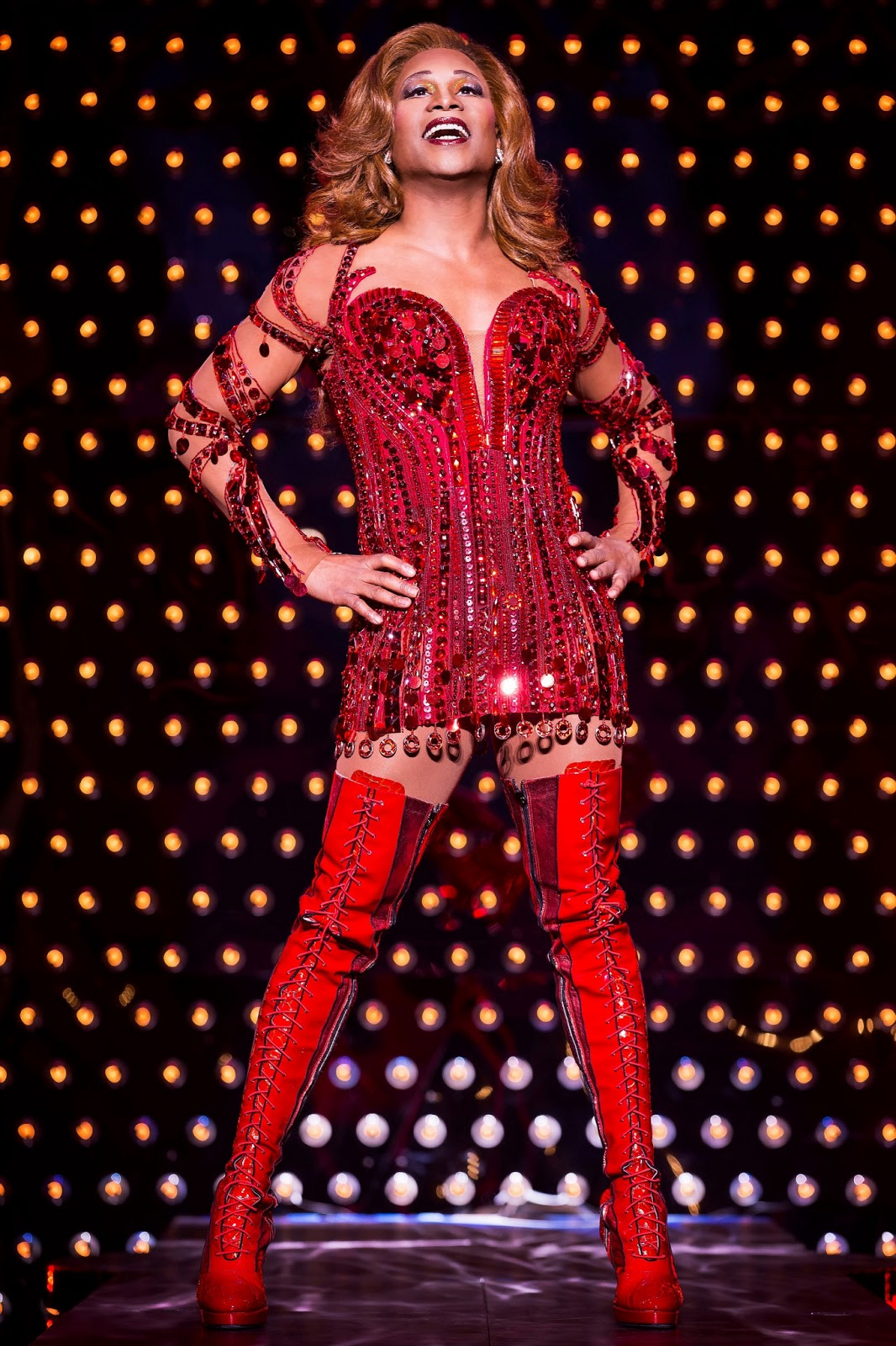 Frankie c kinky boots is not just a musical it s a for Cyndi lauper broadway kinky boots