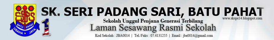 Laman Sesawang Rasmi SK Seri Padang Sari Batu Pahat