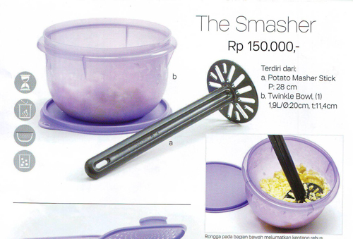 Tupperware The Smasher