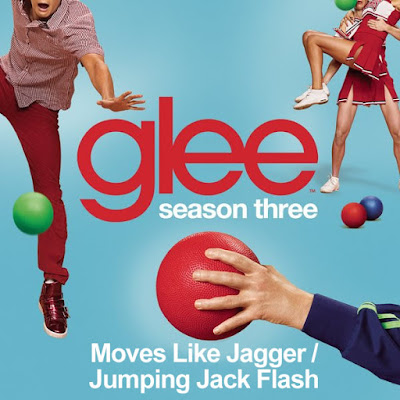 Glee - Moves Like Jagger/Jumpin' Jack Flash Lyrics