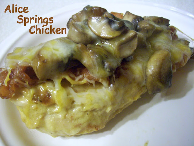 Flavors by Four: Alice Springs Chicken