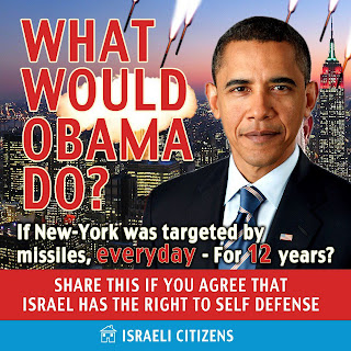 Gaza rockets: what would Obama do?