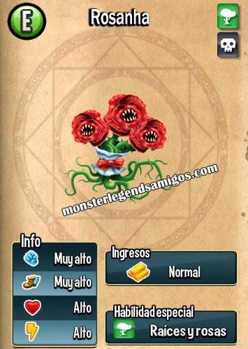 imagen de las caracteristicas del monstruo rosanha