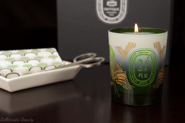 Diptyque Résine Resin Pine Candle Holiday 2014 Collection