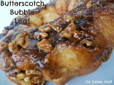 Butterscotch Bubble Loaf Recipe