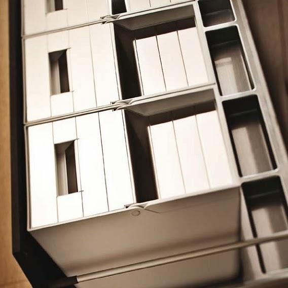 cubo reciclaje cajon gavetero cuina calaix
