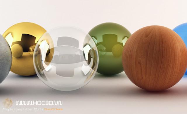 ý nghĩa các thông số trong vật liệu Vray | thông số vật liệu Vray | vật liệu Vray cơ bản | Vray 2.0 | vật liệu Vray