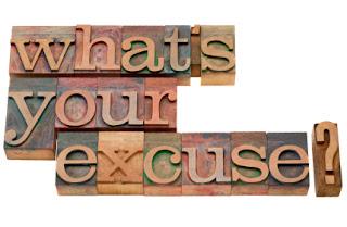 public speaking excuses