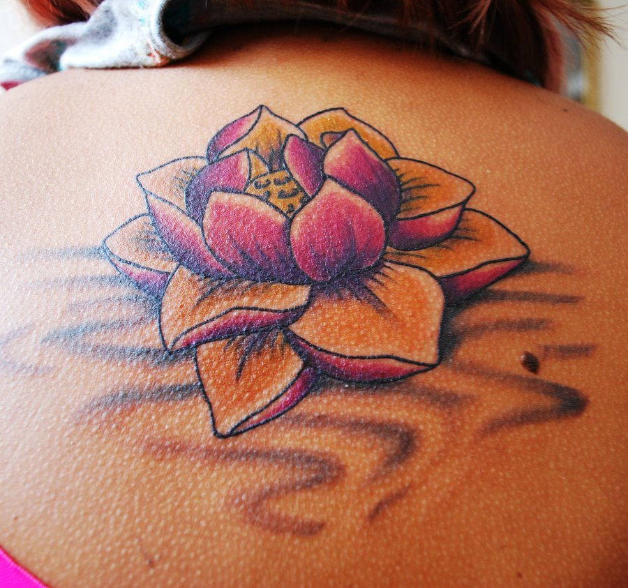 , July 26, 2012 Diposkan Oleh Aon Prawira Label: Lotus Flower Tattoo