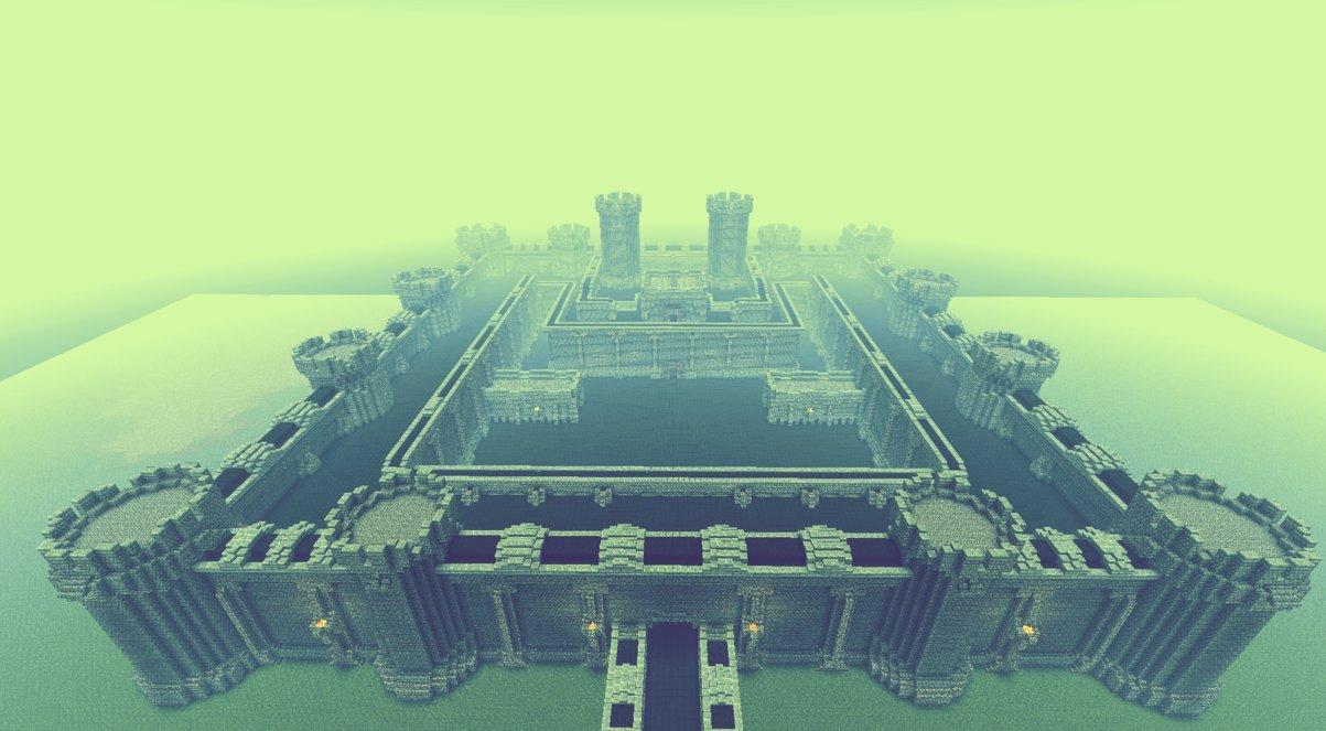 ten epic minecraft castles for inspiration   minecraft pixel art