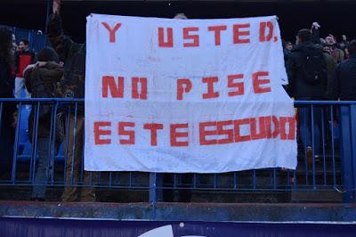 Deportes: Y USTED NO PISE ESTE ESCUDO