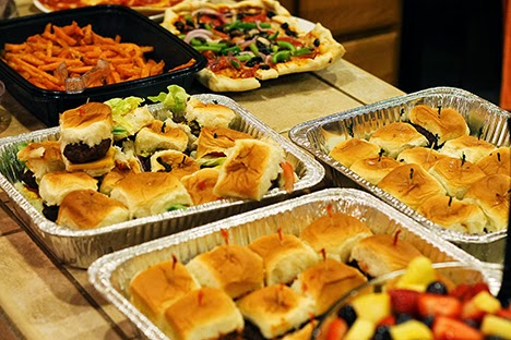 speakeasy party food