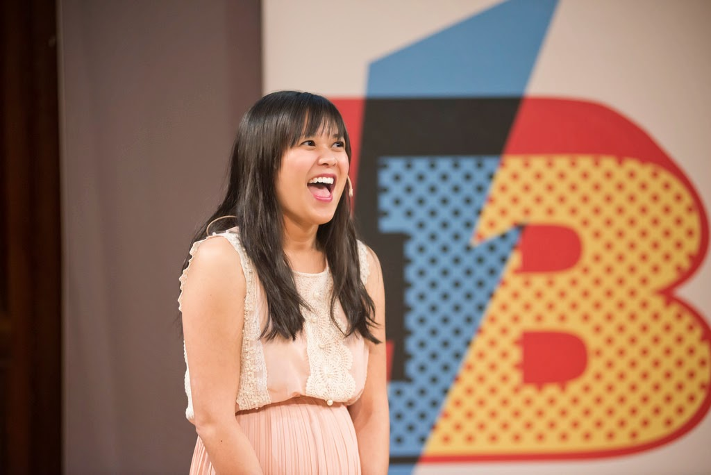 Joy Cho at Blogtacular 2014 - An amazing keynote speaker to open the first Blogtacular blogging conference.