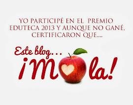 Premios Eduteca 2013...otra vez será!!!