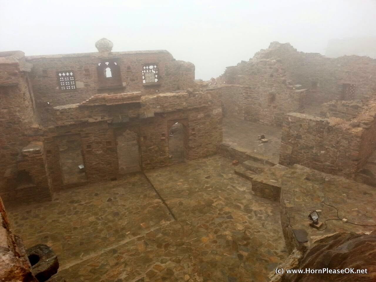 Ruins within Kumbhalgarh fort