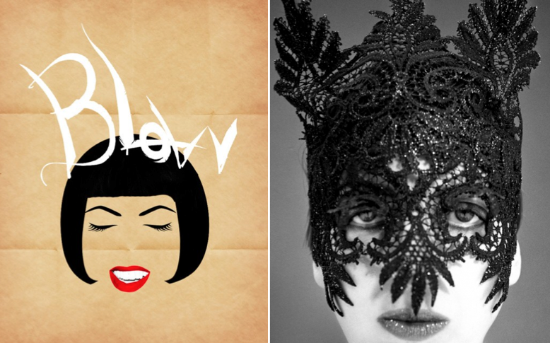 Illustration inspired by Isabella Blow, Left: Photo of Isabella Blow ... Isabella Blow