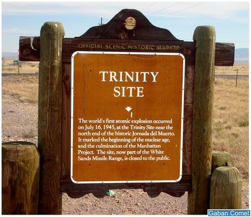 Trinity Site Tempat Bom Atom Yang Pertama Diletupkan Untuk Eksperimen