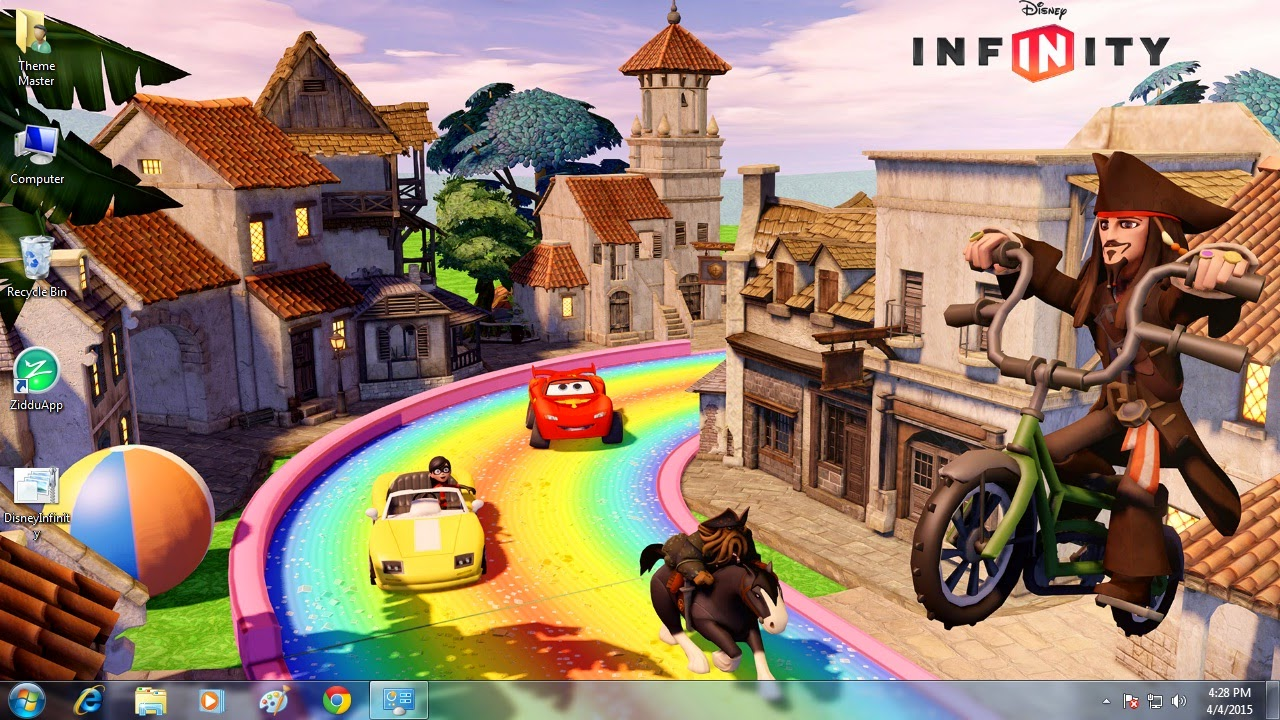 Download Disney Infinity Theme