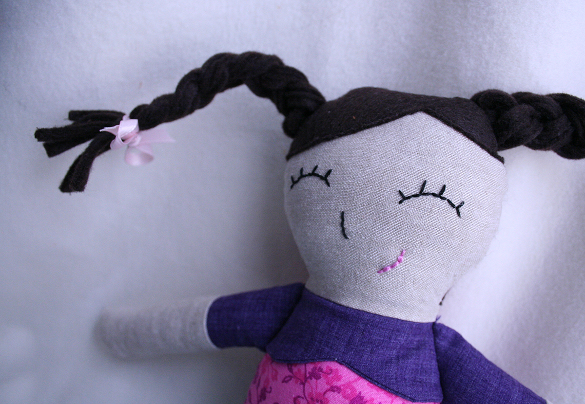 Tangible Pursuits: Ruby Lou Doll (pattern by Sew Much Ado)