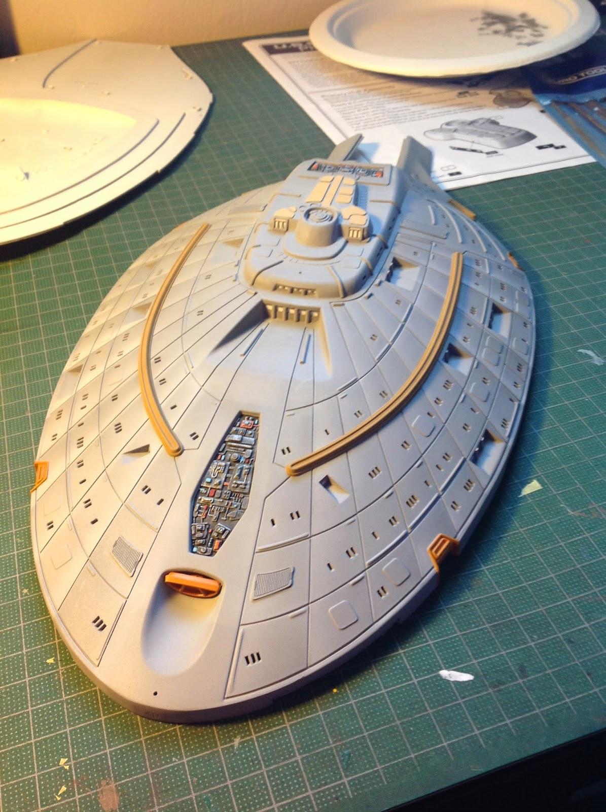 Star Trek, Voyager, Scale model, Revell, Plastic Model, r