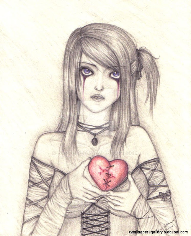 I give you my broken heart by sapphire07 on DeviantArt