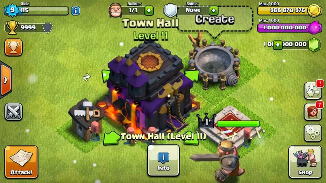 clash of clan gems generator 2017