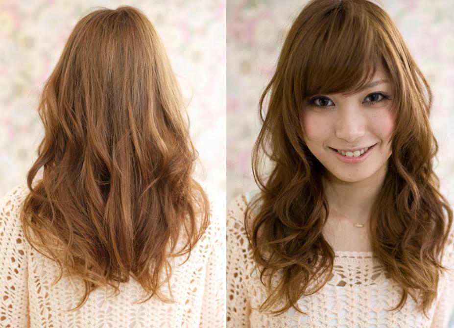 Long Layered Hair Back View