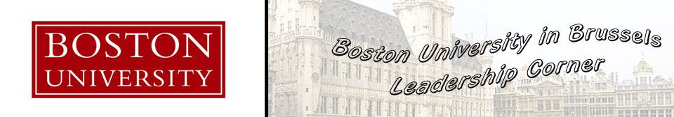 The Boston University Leadership Corner
