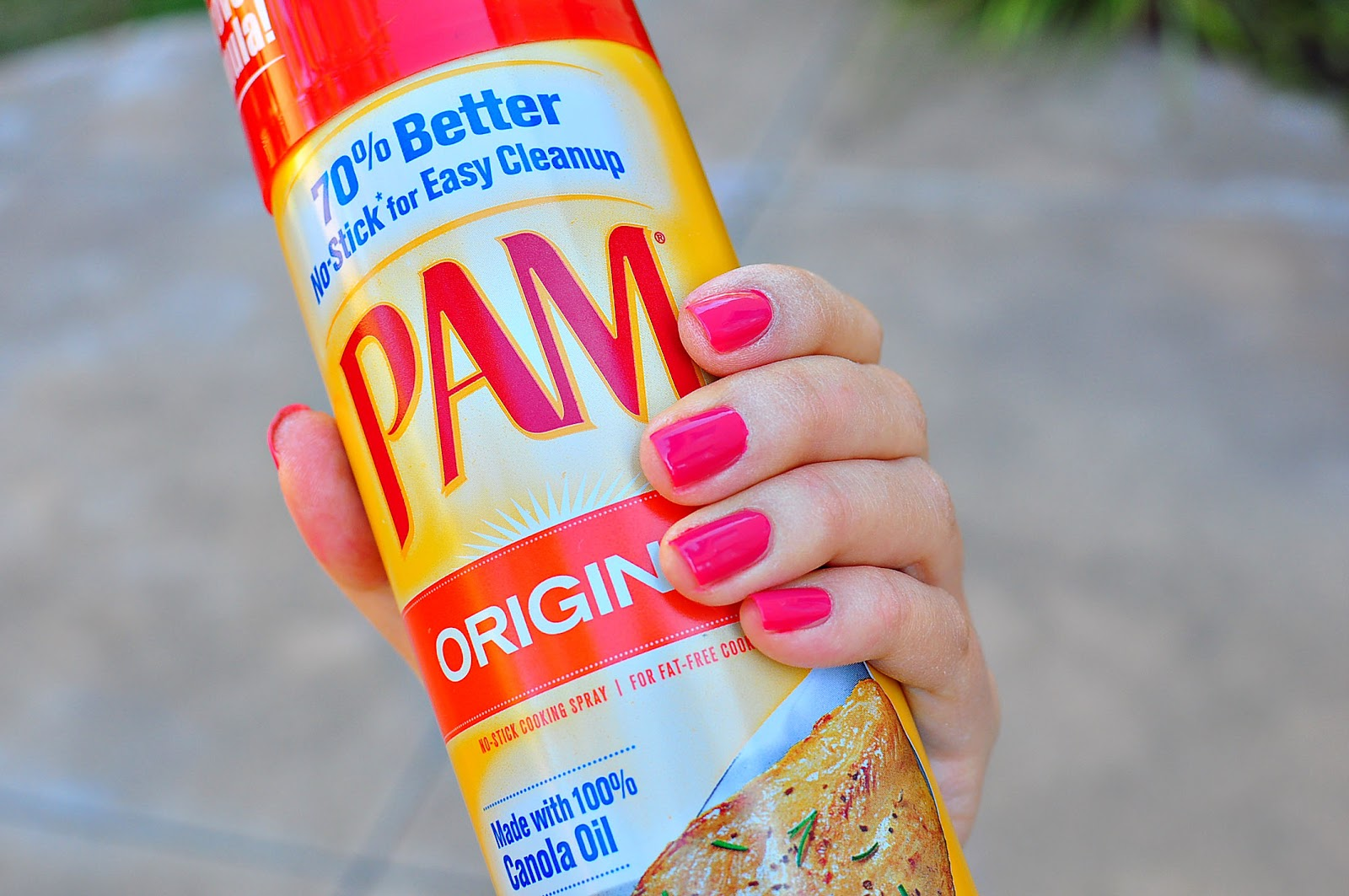 The Cheese Thief: Does Pam Dry Nails Extra Fast? Let\'s Put it to the ...