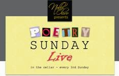 POETRY SUNDAY LIVE in Placerville Sun. (4/26)