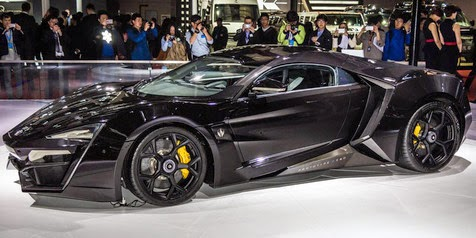 Lykan Hypersport, Most Expensive Supercar