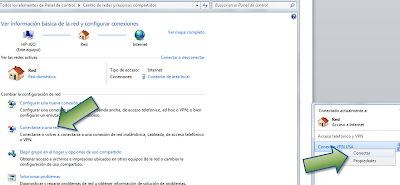 Configurar VPN USA en Windows 7 - Conectarse