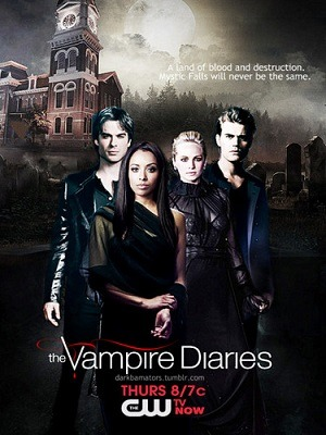 The Vampire Diaries - Diários de um Vampiro - 7ª Temporada Séries Torrent Download capa