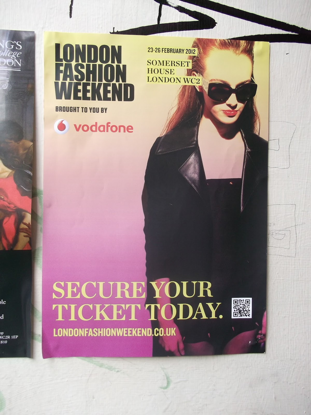 Vodafone London Fashion Weekend At Somerset House Fitti Rainbow Value S 26 Free Mitu Baby Bottle 2in1 Pink 200ml